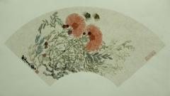 花鸟扇面2