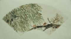 花鸟扇面3