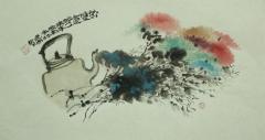 花鸟扇面4