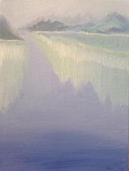 《山水--系列三》李俊成 油画