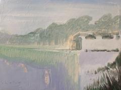 《山水--系列一》李俊成 油画