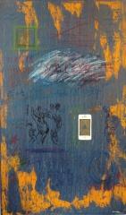 《手机里的新世界》李俊成 油画