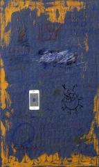 《手机里的新世界》 李俊成 油画