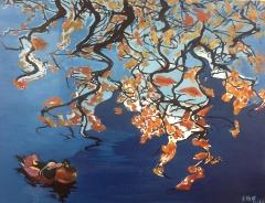 《鸳鸯---系列六》 李俊成 油画