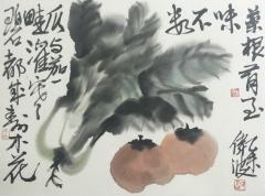 水墨花鸟-24